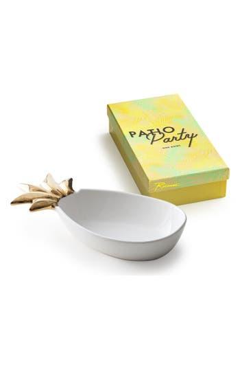 Rosanna Pineapple Porcelain Serving Tray