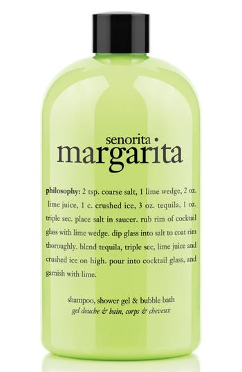 Philosophy 'Senorita Margarita' Shampoo, Conditioner & Body Wash, Size 16 oz