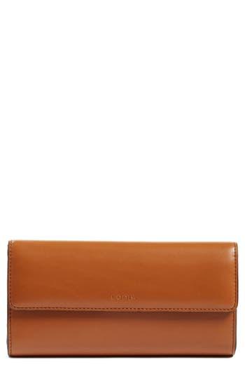 Women's Lodis Audrey Rfid Leather Checkbook Clutch Wallet -