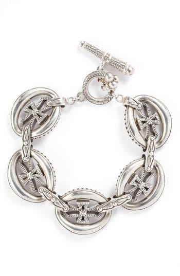 Women's Konstantino 'Penelope' Cross Link Bracelet