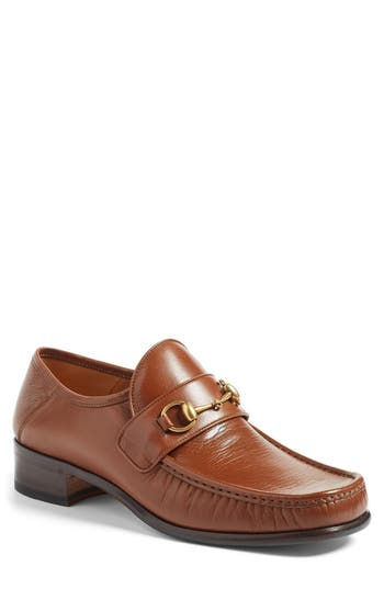 Gucci Vegas Bit Loafer In Cuir Leather