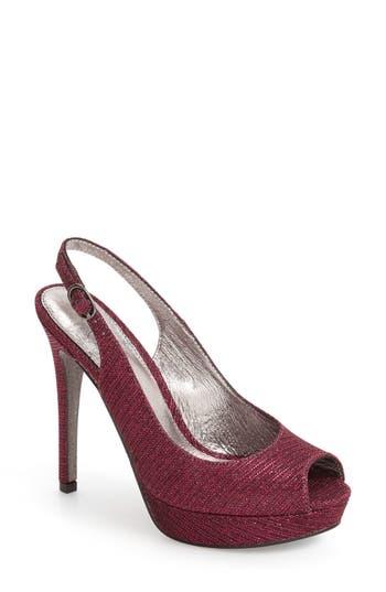 Women's Adrianna Papell Rita Platform Slingback Sandal, Size 9 M - Pink