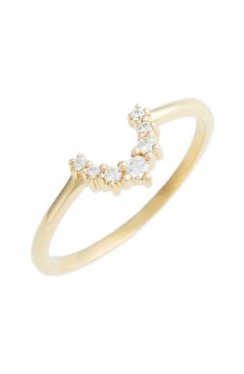 Women's Leah Alexandra Crescent Ring