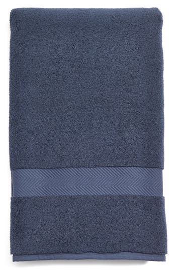 Nordstrom At Home Hydrocotton Bath Towel, Size One Size - Blue