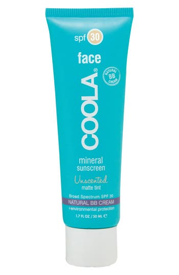 Coola Suncare Face Mineral Sunscreen Unscented Matte Tint Broad Spectrum Spf 30