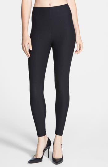 Commando Control Top Leggings, Black