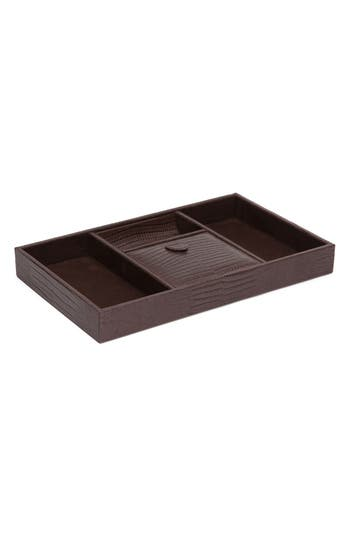 Wolf Blake Valet Tray, Size One Size - Brown