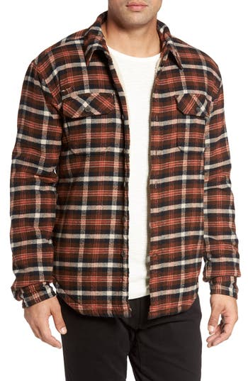 Gramicci Campfire Fleece Lined Shirt Jacket With Faux Shearling