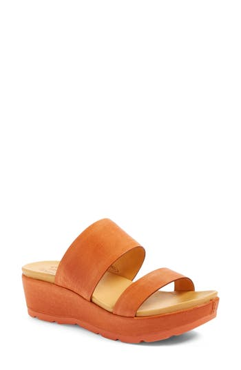 Kork-Ease Kane Platform Sandal, Orange