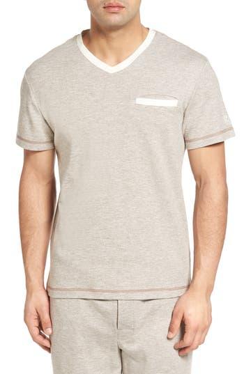 Men's Majestic International Vintage Space Cadet V-Neck T-Shirt