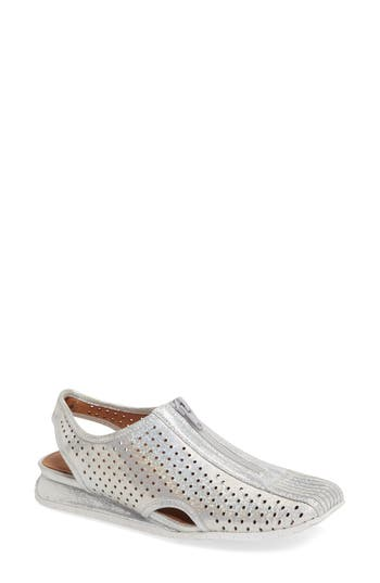 Women's L'Amour Des Pieds Trintino Perforated Slingback Flat