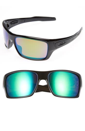 Oakley Turbine H2O 65Mm Polarized Sunglasses - Black