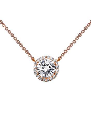 Women's Lafonn 'Lassaire' Halo Pendant Necklace