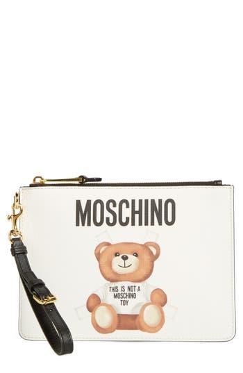 Moschino Small Fantasy Bear Clutch -