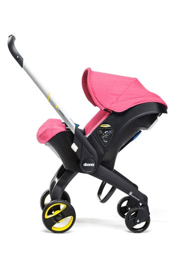 Infant Doona Convertible Infant Car Seat/compact Stroller System, Size One Size - Pink