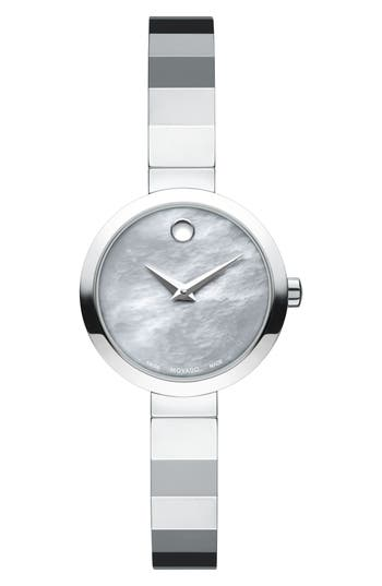 Women's Movado Novella Bangle Watch, 24Mm