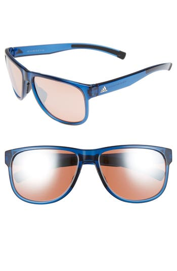 Women's Adidas Sprung 60Mm Sunglasses - Transparent Blue/ Taupe