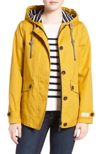 Women's Joules Right As Rain Waterproof Hooded Jacket