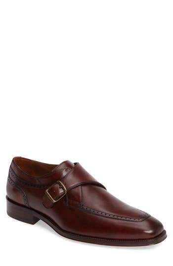 Men's Johnston & Murphy Boydstun Monk Strap Shoe
