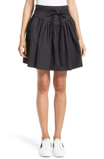 Women's Marc Jacobs Stretch Cotton Yoke Skirt