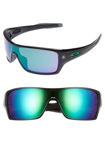 Oakley Turbine Rotor 70Mm Sunglasses - Black/green