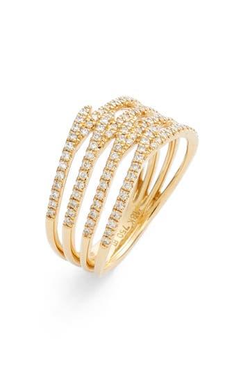 Women's Bony Levy Kiera Four-Row Diamond Ring (Nordstrom Exclusive)