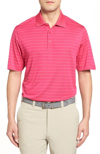 Men's Cutter & Buck Franklin Drytec Polo, Size Large - Pink (Online Only)