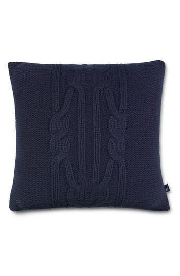 Nautica Bartlett Knit Pillow, Size One Size - Blue