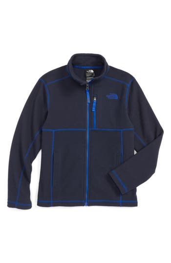 Boy's The North Face Cap Rock Fleece Jacket