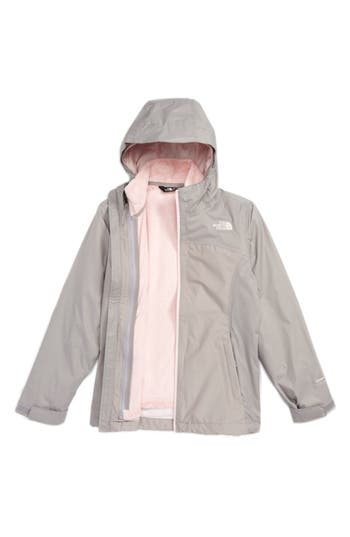 Girl's The North Face Osolita Triclimate Waterproof 3-In-1 Jacket