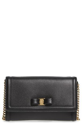 Salvatore Ferragamo Mini Vara Leather Crossbody Bag -
