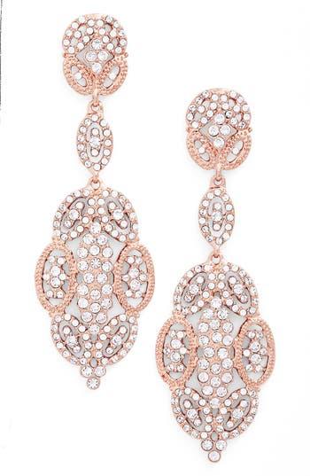 Women's Nina 'Glamorous' Crystal Drop Earrings