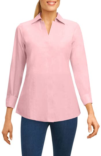 Women's Foxcroft Fitted Non-Iron Shirt
