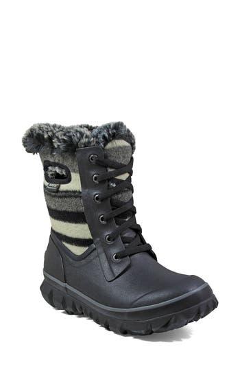 Bogs Arcata Stripe Waterproof Snow Boot