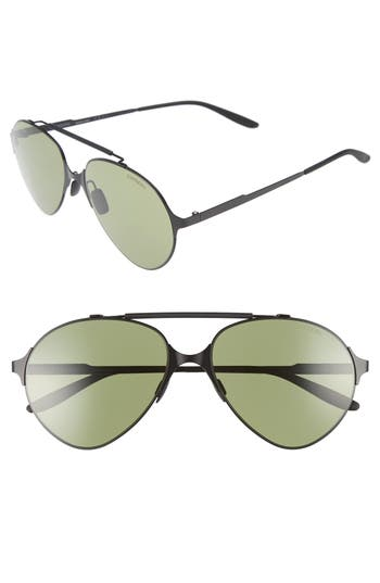 Carrera 5m Gradient Pilot Sunglasses - Matte Black/ Green