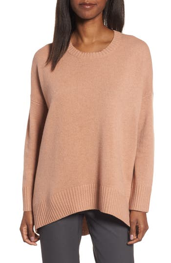 Women's Eileen Fisher Cashmere & Wool Blend Oversize Sweater