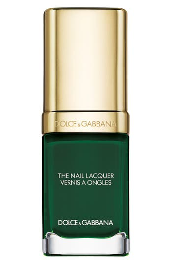 Dolce & gabbana Beauty 'The Nail Lacquer' Liquid Nail Lacquer - Wild Green 725