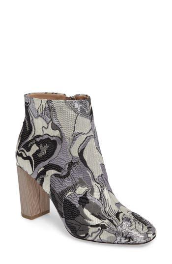 Pour La Victoire Rickie Crescent Heel Bootie- Grey
