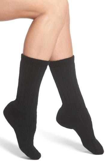 Women's Wigwam Hiker Wool Blend Crew Socks, Size Medium - Black