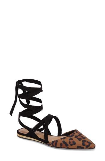 Women's Bcbg Noel Ankle Wrap Flat