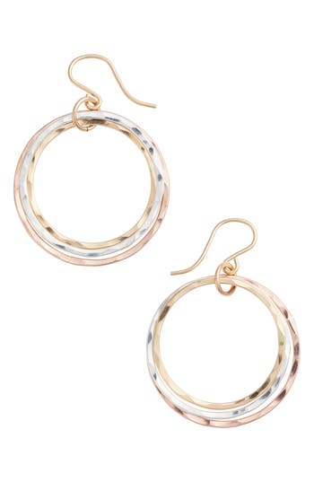 Women's Nashelle Wellness Small Hoop Earrings