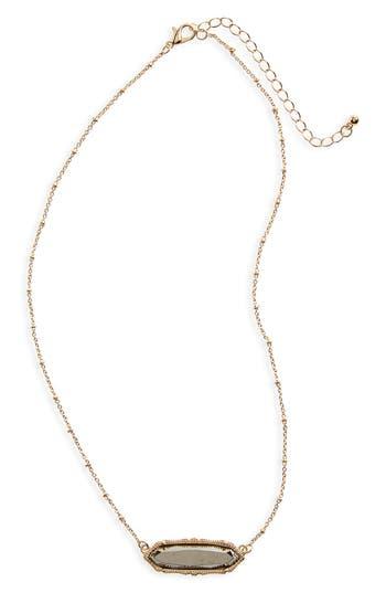 Women's Bp. Stone Charm Necklace
