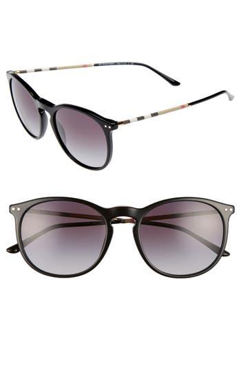 Women's Burberry 54Mm Sunglasses - Black Gradient
