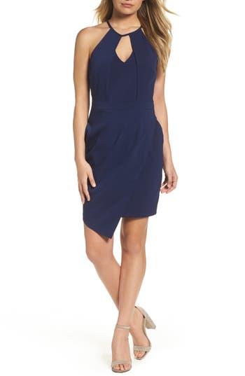 Women's Adelyn Rae Halter Sheath Dress