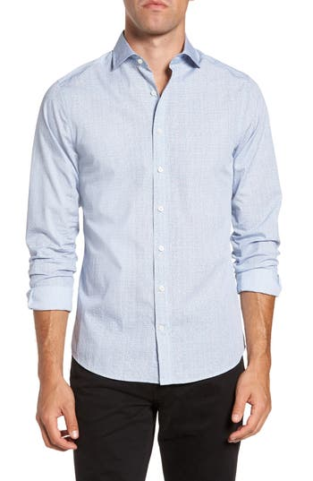 Men's Gant Dot Fitted Sport Shirt