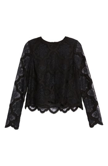 Women's Kendall + Kylie Lace Crop Top