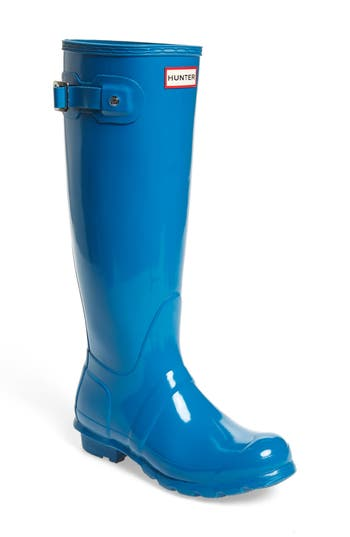 Hunter Original High Gloss Boot, Blue