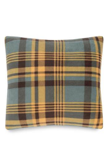 Pendleton Plaid Fleece Pillow, Size One Size - Blue