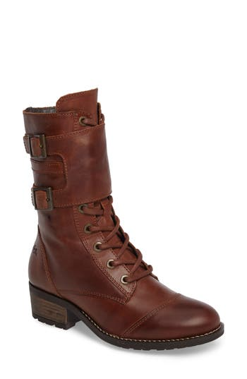 Bos. & Co. Lune Waterproof Moto Boot - Brown