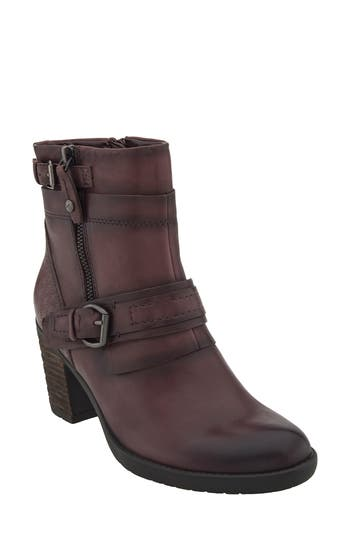 Earth Montana Bootie, Burgundy